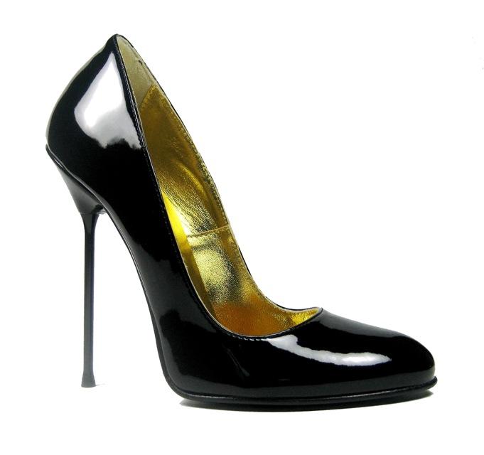 ultra high round toe court stiletto high. Black Bedroom Furniture Sets. Home Design Ideas